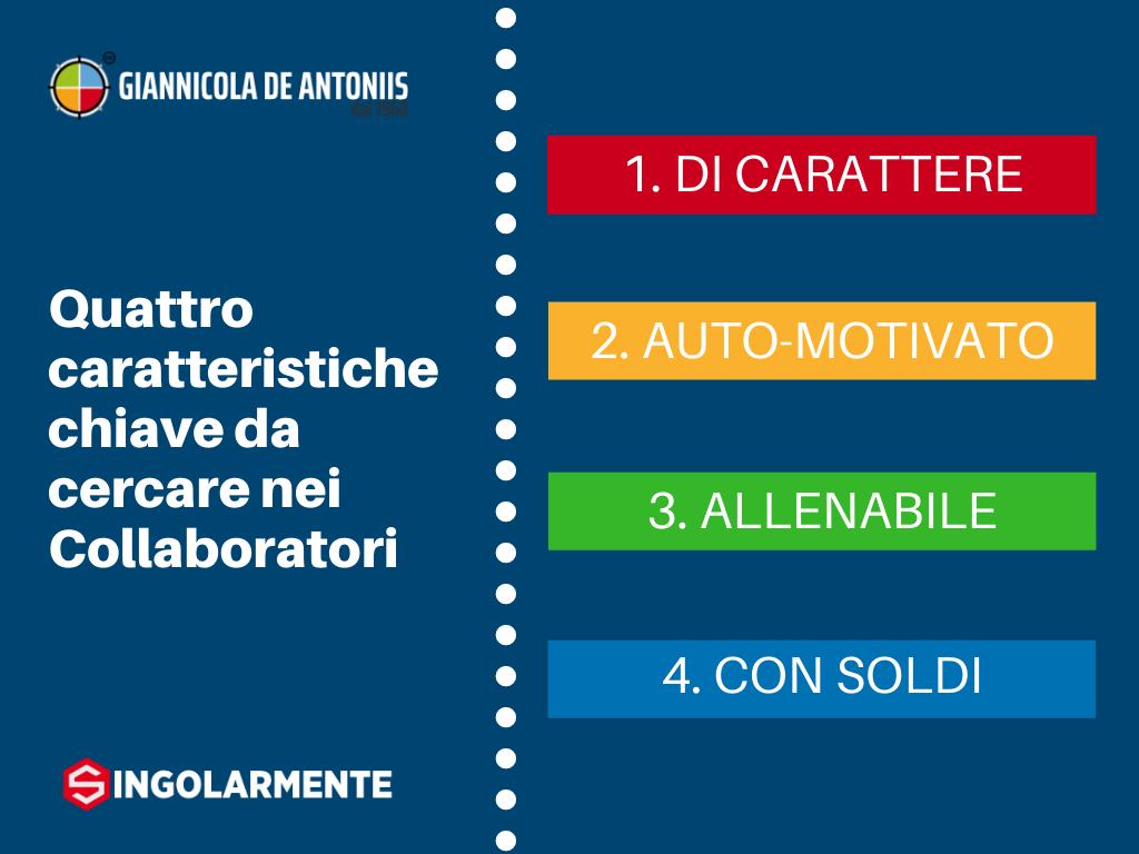 Le quattro caratteristiche chiave per la Collaborazione